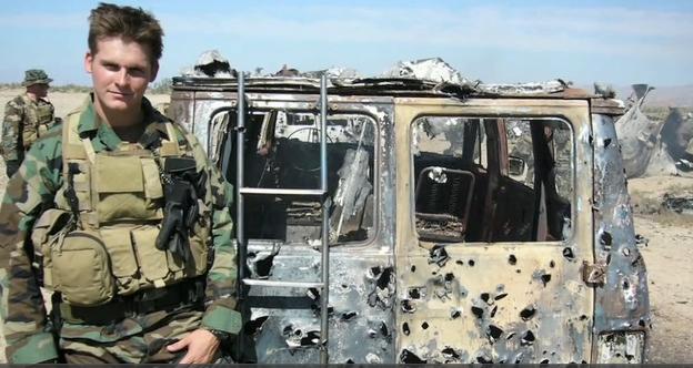 Rob in Iraq
