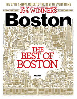 Cover of Boston Magazine