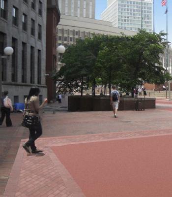 (Government Center, Boston MA.)