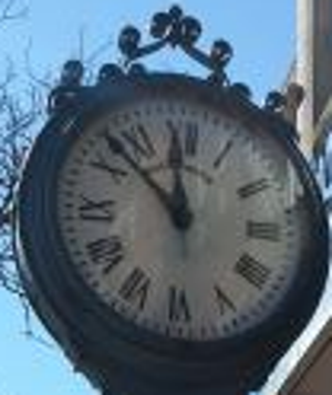 Copy of Harvard Square ClockFace